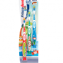 Friscodent Toothbrush Kids 2-6 years, 3 pieces