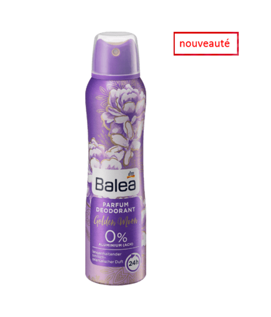Balea Deodorant Golden Moon, 150ml
