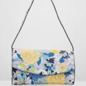Esprit bag blue flowers