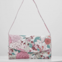 Esprit bag flower pink and white