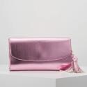 Esprit Tally clutch pink shinny