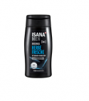 Isana Men showergel & shampoo Herbe Frische, 300ml